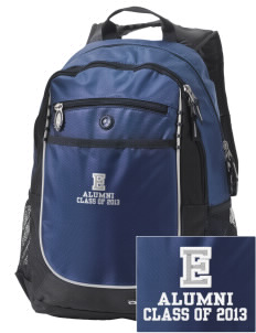 Eatonville Elementary School Warriors Embroidered OGIO Carbon Backpack