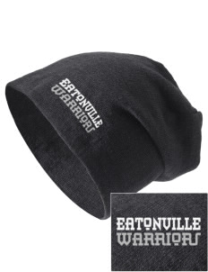 Eatonville Elementary School Warriors Embroidered Slouch Beanie