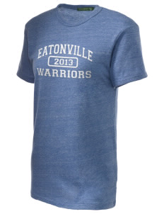Eatonville Elementary School Warriors Embroidered Alternative Unisex Eco Heather T-Shirt