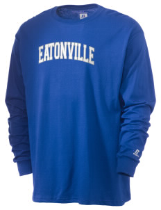 Eatonville High School Cruisers  Russell Men's Long Sleeve T-Shirt