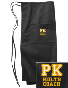 Perry Keithley Middle School Kolts Embroidered Full Bistro Bib Apron