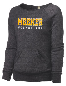 Meeker Middle School Wolverines Alternative Women's Maniac Sweatshirt