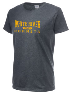 White River High School Hornets Women's 6.1 oz Ultra Cotton T-Shirt