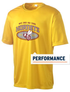 White River High School Hornets Men's Competitor Performance T-Shirt