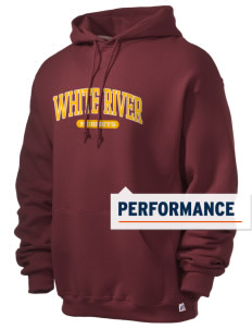 White River High School Hornets Russell Men's Dri-Power Hooded Sweatshirt