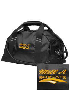 Mill A Elementary School Bobcats Embroidered OGIO Half Dome Duffel