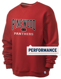 Pinewood Elementary School Panthers  Russell Men's Dri-Power Crewneck Sweatshirt