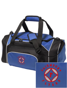 Fairmount Elementary School Flyers Embroidered Holloway Duffel Bag