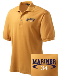 Mariner High School Mariner Marauders Embroidered Men's Silk Touch Polo