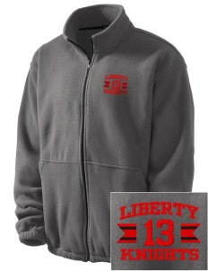 Liberty Elementary School Knights Embroidered Men's Fleece Jacket