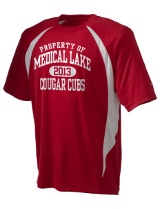 Medical Lake Elementary School Cougar Cubs Champion Men's Double Dry Elevation T-Shirt