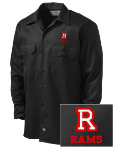 Riverside High School Rams Embroidered Dickies Men's Long-Sleeve Workshirt