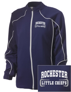 Rochester Primary School Little Chiefs Embroidered Russell Women's Full Zip Jacket