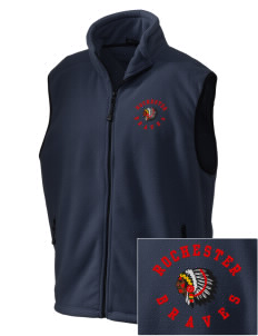 Rochester Middle School Braves Embroidered Unisex Wintercept Fleece Vest