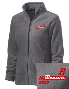 Rochester Middle School Braves Embroidered Women's Wintercept Fleece Full-Zip Jacket