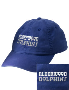 Alderwood Elementary School Dolphins Embroidered Vintage Adjustable Cap