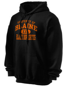 Blaine High School Blaine Borderites Ultra Blend 50/50 Hooded Sweatshirt