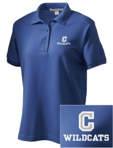 Colton High School Wildcats Women's Embroidered Silk Touch Polo