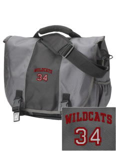 Toppenish High School Wildcats  Embroidered Montezuma Messenger Bag