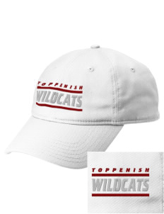 Toppenish High School Wildcats  Embroidered New Era Adjustable Unstructured Cap