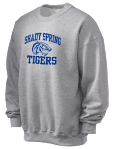 Shady Spring Elementary School Tigers Ultra Blend 50/50 Crewneck Sweatshirt