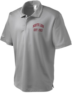 North Linn Elementary School Lynx adidas Men's ClimaLite Athletic Polo