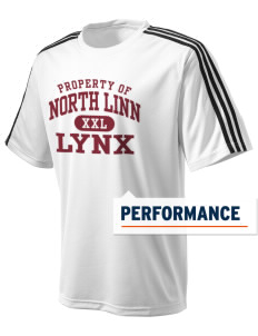 North Linn Elementary School Lynx adidas Men's ClimaLite T-Shirt