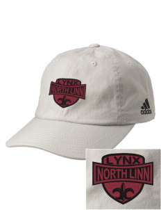 North Linn Elementary School Lynx Embroidered adidas Relaxed Cresting Cap