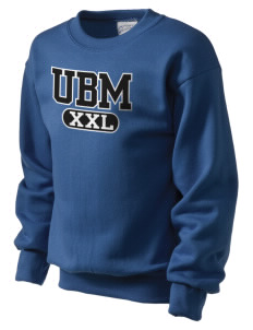 University Baptist Montessori Lamps Kid's Crewneck Sweatshirt