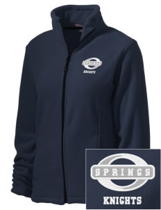 Springs Academy Knights Embroidered Women's Wintercept Fleece Full-Zip Jacket