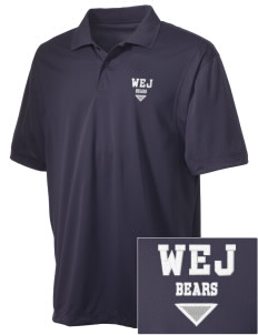Walter E Jacobson Elementary School Bears Embroidered Men's Micro Pique Polo