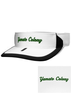 Yamato Colony Elementary School Dragons Embroidered M2 Sideline Adjustable Visor