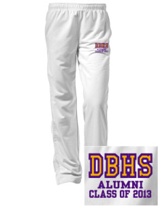 Diamond Bar High School Brahmas Embroidered Women's Tricot Track Pants