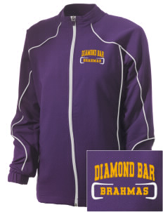 Diamond Bar High School Brahmas Embroidered Russell Women's Full Zip Jacket