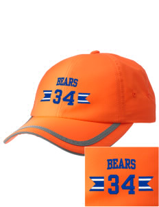 Pacific Coast High School Bears  Embroidered Safety Cap