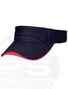 Vandenberg Elementary School Patriots Embroidered Binding Visor
