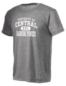 Central Elementary School Banning Ponies Alternative Men's Eco Heather T-shirt