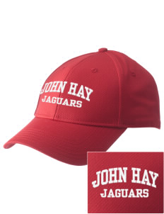 John Hay Elementary School Jaguars  Embroidered New Era Adjustable Structured Cap