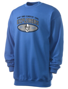 Bryant Ranch Elementary School Explorers Men's 7.8 oz Lightweight Crewneck Sweatshirt