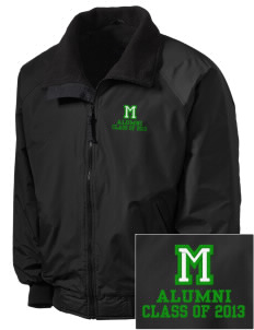 Meadowview Elementary School Hawks Embroidered Tall Men's Challenger Jacket