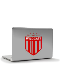 "Central City Community High School Wildcats Apple MacBook Air 13"" Skin"