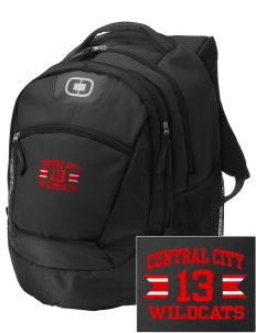 Central City Community High School Wildcats Embroidered OGIO Rogue Backpack