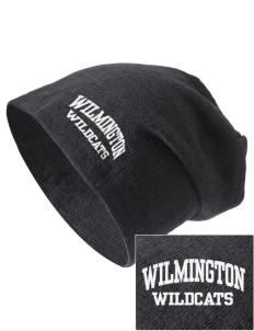Wilmington High School Wildcats Embroidered Slouch Beanie