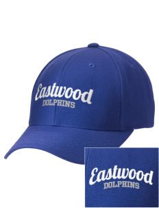 Eastwood Elementary School Dolphins Embroidered Wool Adjustable Cap