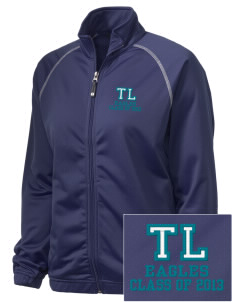 Trinity Lutheran School Eagles Embroidered Holloway Women's Attitude Warmup Jacket