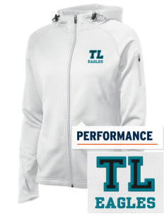 Trinity Lutheran School Eagles Embroidered Women's Tech Fleece Full-Zip Hooded Jacket