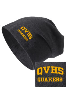 Quaker Valley High School Quakers Embroidered Slouch Beanie