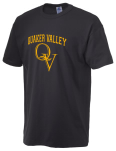 Quaker Valley High School Quakers  Russell Men's NuBlend T-Shirt