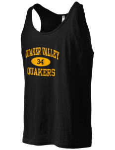 Quaker Valley High School Quakers Men's Jersey Tank
