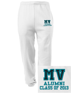 Meadow View School Mountain Lions Embroidered Men's Sweatpants with Pockets
